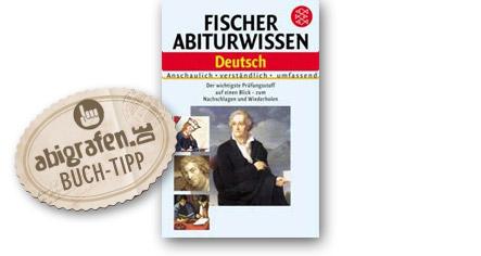 Abitur Lernhilfen vom Fischer Verlag: Abiturwissen Deutsch