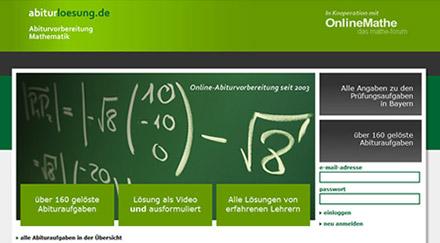 Online Abiturvorbereitung Mathematik