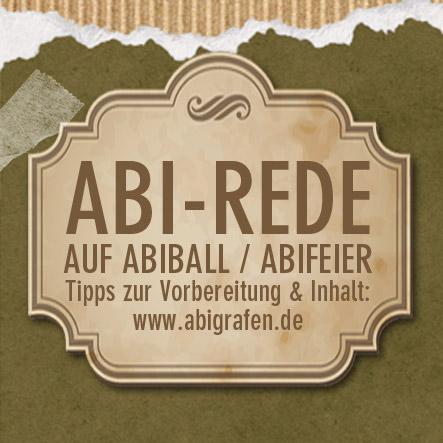 Abiturrede / Abi Rede / Abirede / Abschlussrede