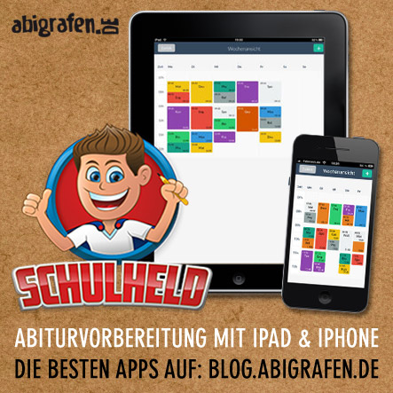 Hilfreiche App für die Abiturvorbereitung iPad oder iPhone: Schulheld (Organisation / Stundenplan / Klasuren9