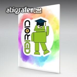 ABIROID Abi Motto / Abizeitung Cover Entwurf von abigrafen.de®