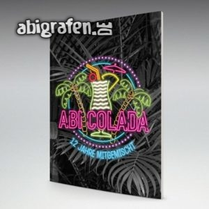 ABIcolada Abi Motto / Abizeitung Cover Entwurf von abigrafen.de®
