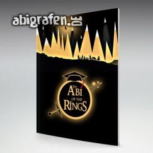 The Abi of the Rings Abi Motto / Abizeitung Cover Entwurf von abigrafen.de®