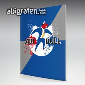 Abi Bull Abi Motto / Abizeitung Cover Entwurf von abigrafen.de®
