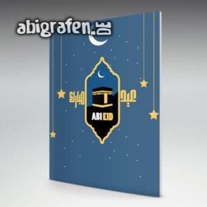 Abi Eid Abi Motto / Abizeitung Cover Entwurf von abigrafen.de®