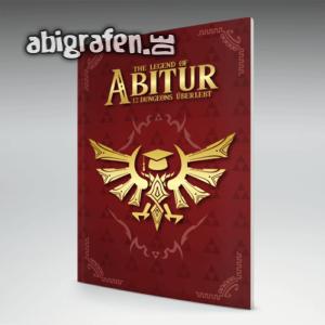 The Legend of Abitur Abi Motto / Abizeitung Cover Entwurf von abigrafen.de®