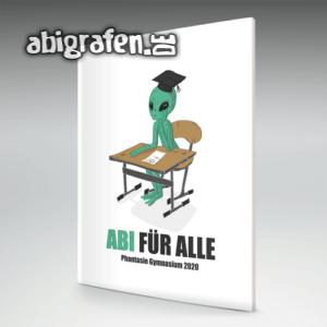 Abi für alle Abi Motto / Abizeitung Cover Entwurf von abigrafen.de®