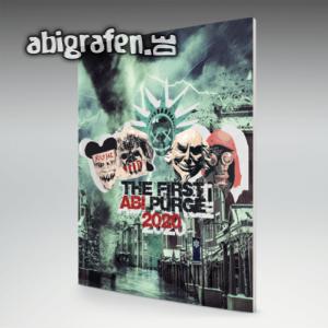 The First Abi Purge Abi Motto / Abizeitung Cover Entwurf von abigrafen.de®