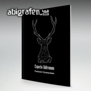 hABI Potter Abi Motto / Abizeitung Cover Entwurf von abigrafen.de®