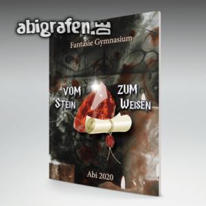 Abi Dumbledore Abi Motto / Abizeitung Cover Entwurf von abigrafen.de®