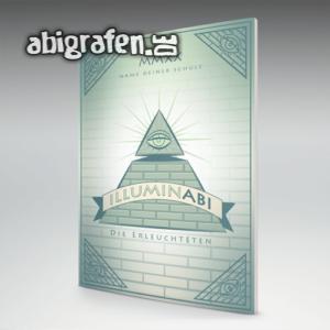 IlluminABI Abi Motto / Abizeitung Cover Entwurf von abigrafen.de®