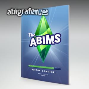 The Abims Abi Motto / Abizeitung Cover Entwurf von abigrafen.de®
