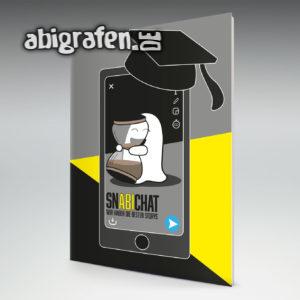 Snabichat Abi Motto / Abizeitung Cover Entwurf von abigrafen.de®