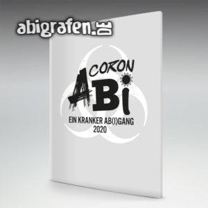 CoronAbi Abi Motto / Abizeitung Cover Entwurf von abigrafen.de®