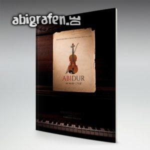 Abidur Abi Motto / Abizeitung Cover Entwurf von abigrafen.de®