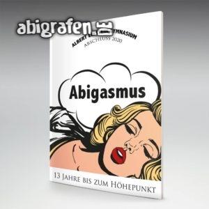 Abigasmus Abi Motto / Abizeitung Cover Entwurf von abigrafen.de®