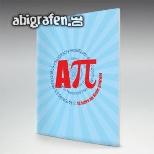 Aπ (Pi) Abi Motto / Abizeitung Cover Entwurf von abigrafen.de®