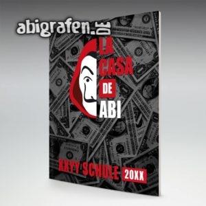 La Casa De Abi Abi Motto / Abizeitung Cover Entwurf von abigrafen.de®