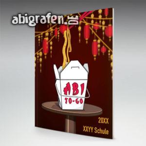 Abi To Go Abi Motto / Abizeitung Cover Entwurf von abigrafen.de®
