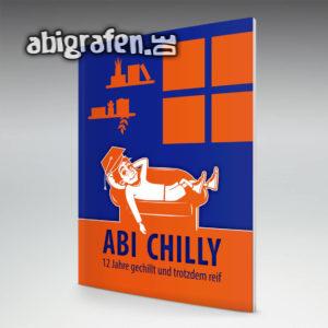 Abi Chilly Abi Motto / Abizeitung Cover Entwurf von abigrafen.de®