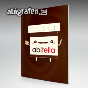 abitella Abi Motto / Abizeitung Cover Entwurf von abigrafen.de®