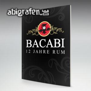 BacABI Abi Motto / Abizeitung Cover Entwurf von abigrafen.de®