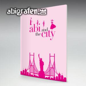 Abi and the City Abi Motto / Abizeitung Cover Entwurf von abigrafen.de®