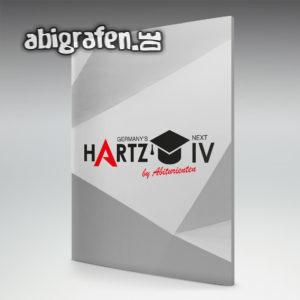 Germany's Next Hartz IV Abi Motto / Abizeitung Cover Entwurf von abigrafen.de®