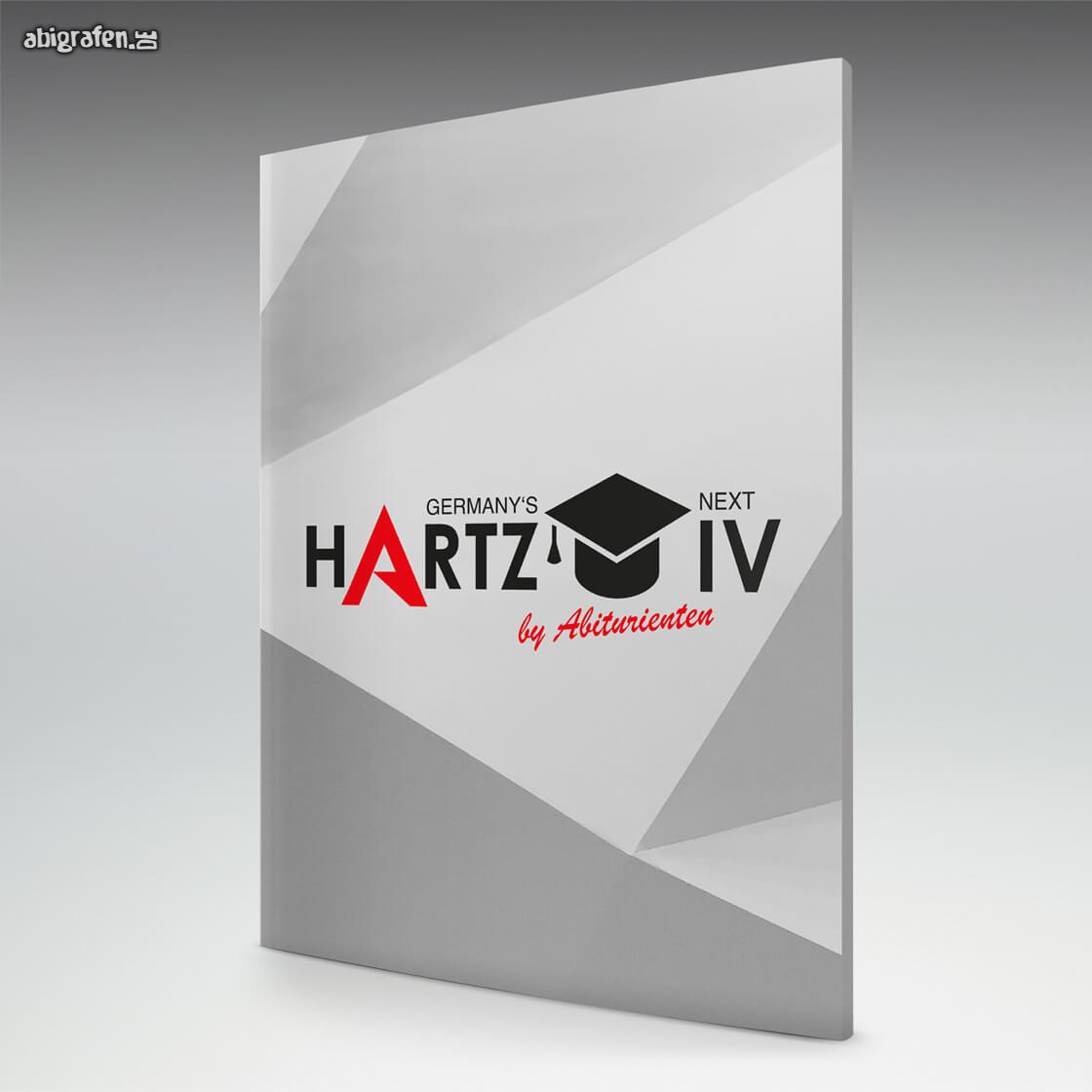 Softcover Abizeitung, Abschlusszeitung, Schülerzeitung mit Germany's Next Hartz IV – by Abiturienten