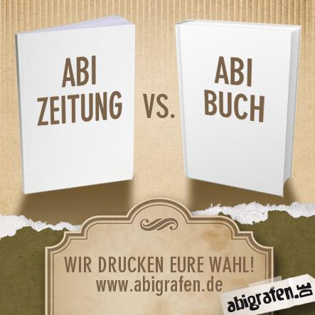 Abizeitung vs. Abibuch drucken – hier gibt es Antworten zu den Unterschieden