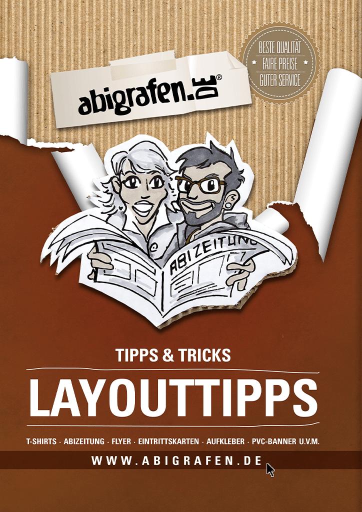 gratis Download zum Layout von Abizeitung/Abibuch