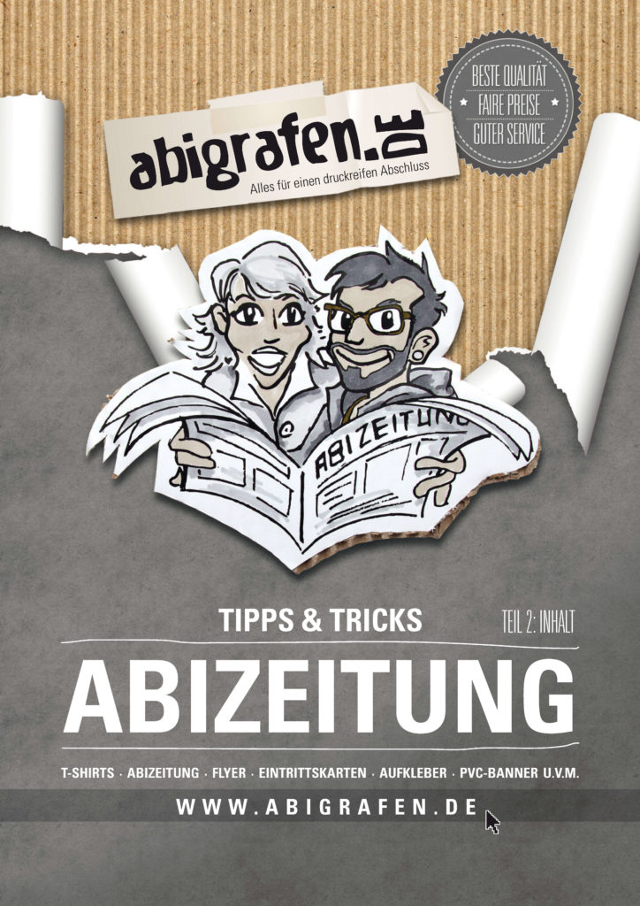 gratis Download zum Inhalt von Abizeitung/Abibuch