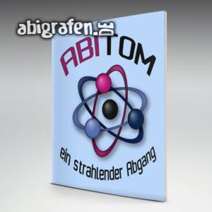 ABItom Abi Motto / Abizeitung Cover Entwurf von abigrafen.de®