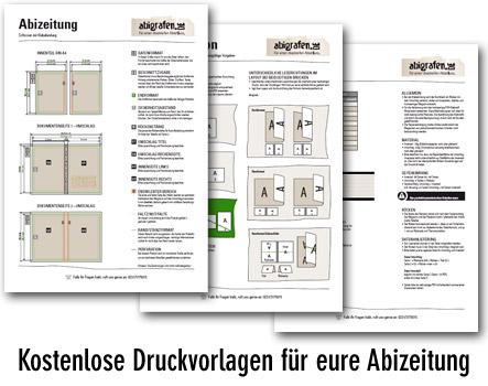 Anleitung Abizeitung Druck - bei uns findet ihr detaillierte Hilfestellungen zum Anlegen eurer Druckdaten für Abizeitung / Abibuch
