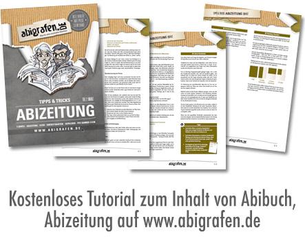 Kostenloses Tutorial für die inhaltliche Erarbeitung einer Abizeitung / eines Abibuches, Berichte Abizeitung