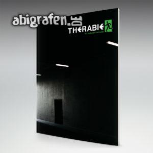 Therabie Abi Motto / Abizeitung Cover Entwurf von abigrafen.de®