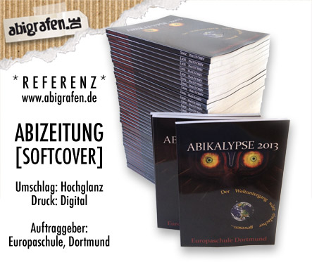 Abizeitung Druck - Referenzprojekt eurer Abidruckerei: abigrafen.de