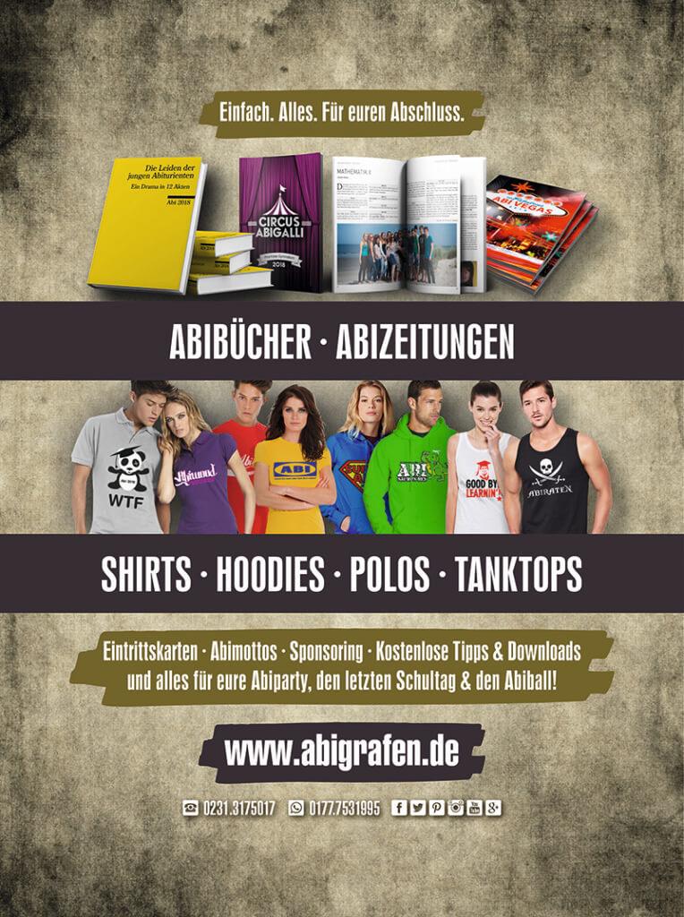 Abizeitung Sponsoren: Werbeanzeige für Hardcover von abigrafen.de - Ansichtsdatei