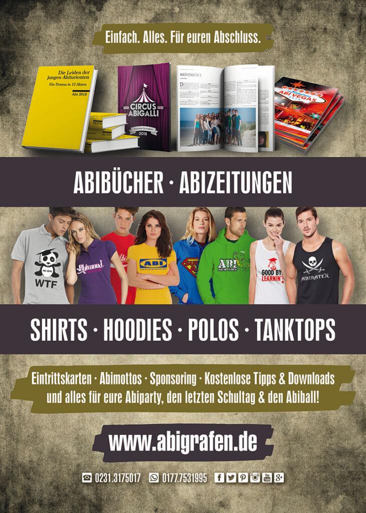 Abizeitung Sponsoren: Werbeanzeige für Softcover von abigrafen.de – Ansichtsdatei