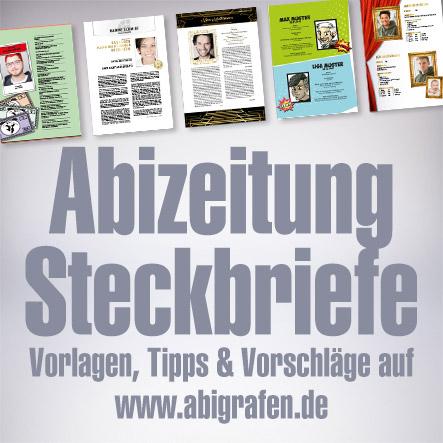 Abizeitung Steckbriefe: vorlagen, Vorschläge und Tipps