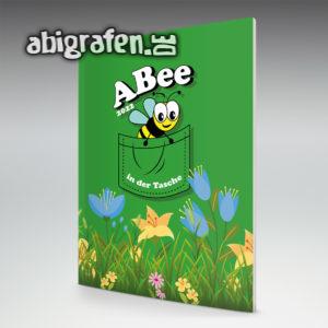 ABee Abi Motto / Abizeitung Cover Entwurf von abigrafen.de®
