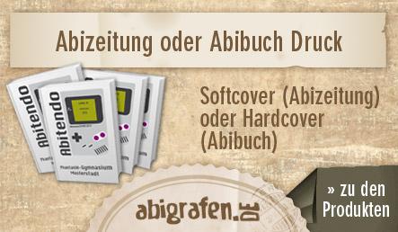 abigrafen.de - die Abizeitung Softcover und das Abibuch Hardcover in der Übersicht