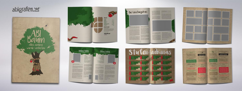 Referenzprojekt von abigrafen.de: Abizeitung Musterseiten Layout