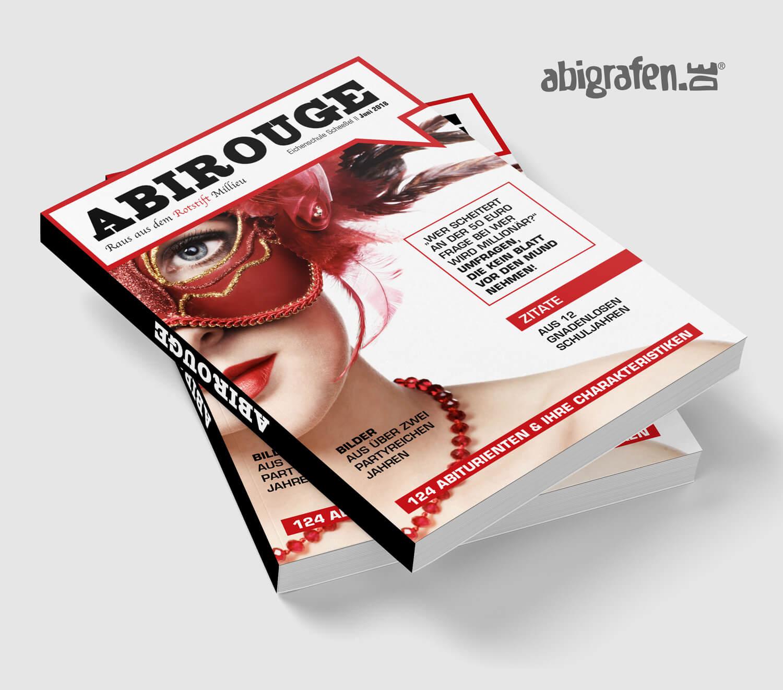 Referenzprojekt von abigrafen.de: Abizeitung Umschlag Layout