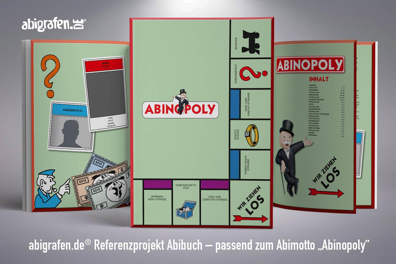 Referenzprojekt von abigrafen.de: Abizeitung Komplettes Layout