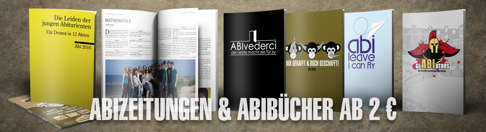 Angebot: Abizeitungen günstig drucken bei abigrafen.de