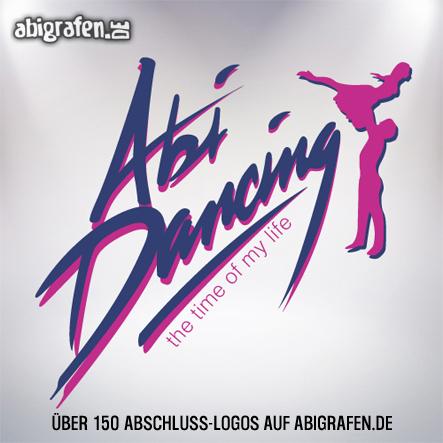 Abschlusslogo für Abishirt, Abizeitung, Abibuch & Co: Abi Dancing