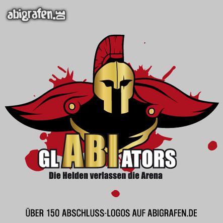 Abschlusslogo für Abishirt, Abizeitung, Abibuch & Co: GlABIators