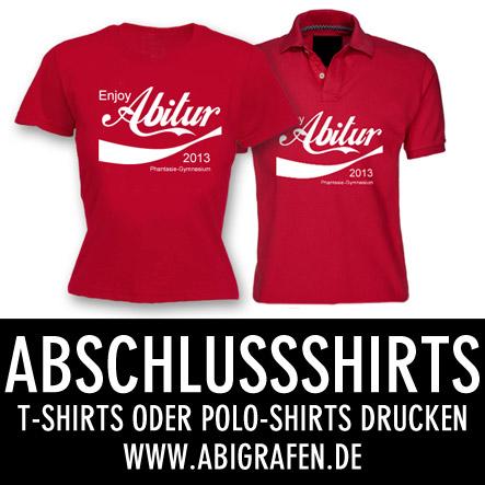 Abi Druckerei: Abschlussshirts drucken. Abi Shirts, Polo Shirts, Abimotto