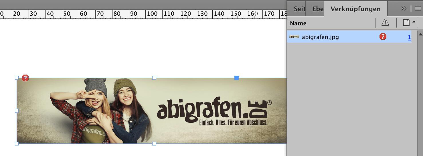 abigrafen.de - Schritt für Schritt Anleitung: Bildintegration in InDesign®